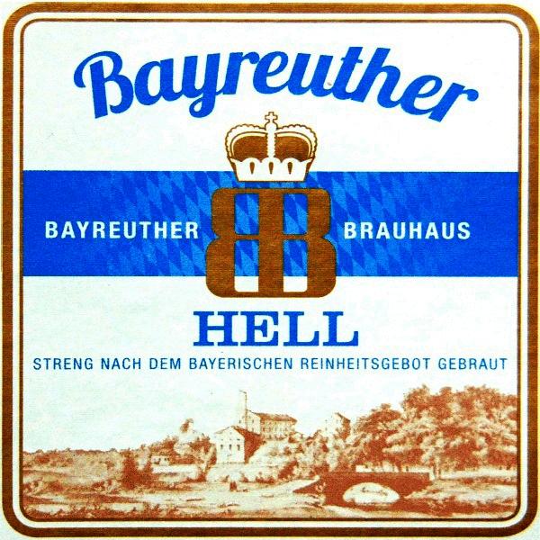 Пиво имп. - Байройтер Хель, Германия (светлое)