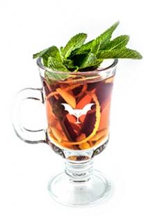 Пряный имбирный чай