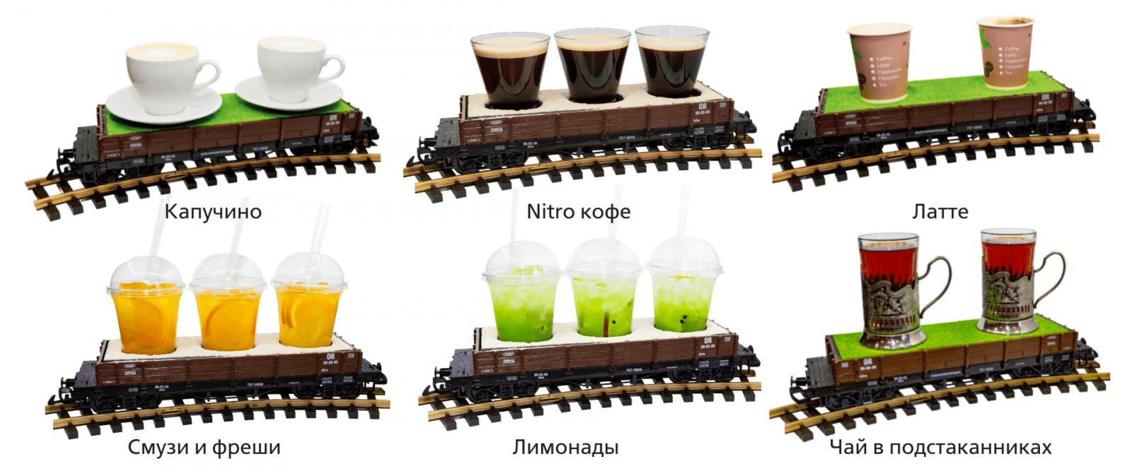 Безалкогольные напитки в ЖД Вагонах