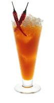 Рецепт Ред-девил манго-Рита.