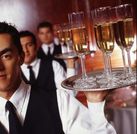Наши официанты